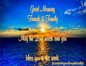 Good Morning 07-20-2015