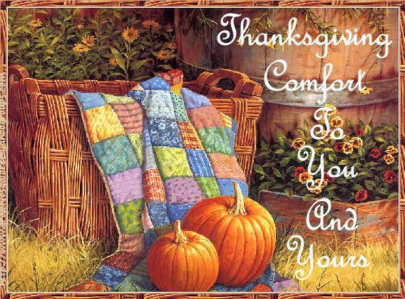Thanksgiving Comfort